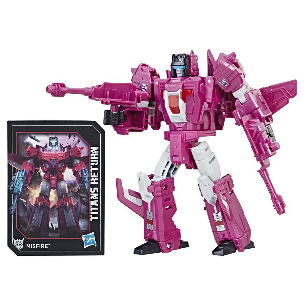 Transformers Generations Titans Return - Misfire de classe légendes et Aimless