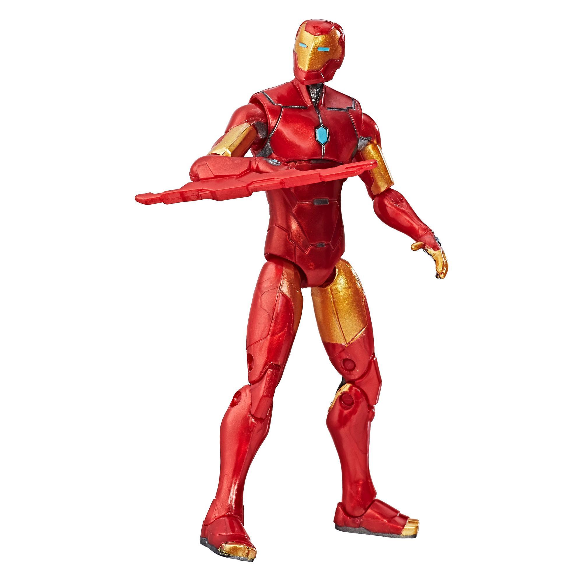 Marvel Legends Series - Figurine Invincible Iron Man de 9 cm