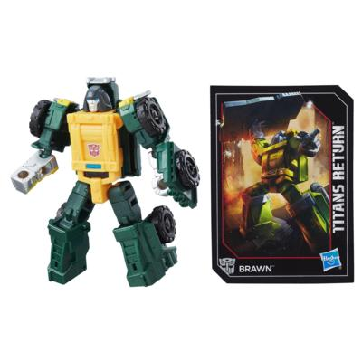 Transformers Generations Titans Return – Brawn classe légendes