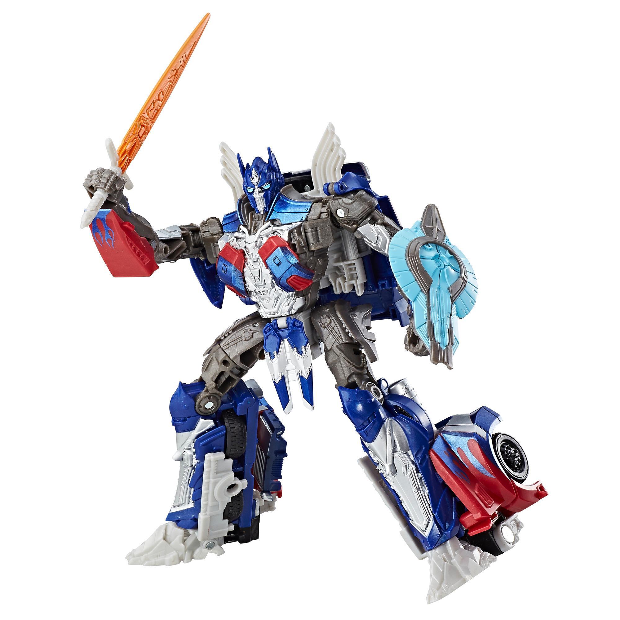 Transformers : le dernier chevalier– Premier Edition–Optimus Prime classe voyageur