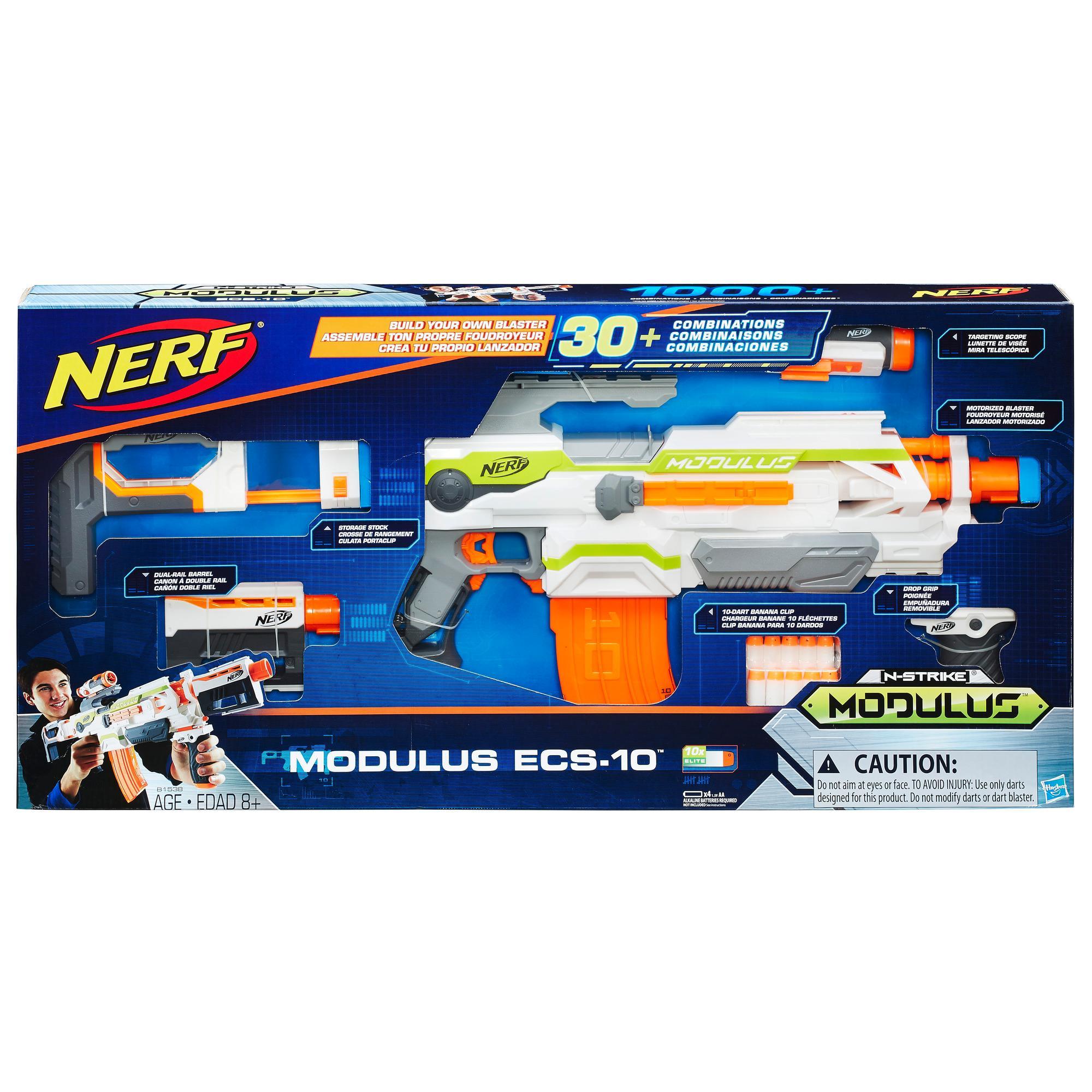 Nerf N-Strike Modulus - Foudroyeur ECS-10