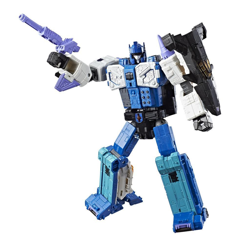 Transformers Generations Titans Return - Decepticon Overlord classe leader et Dreadnaut