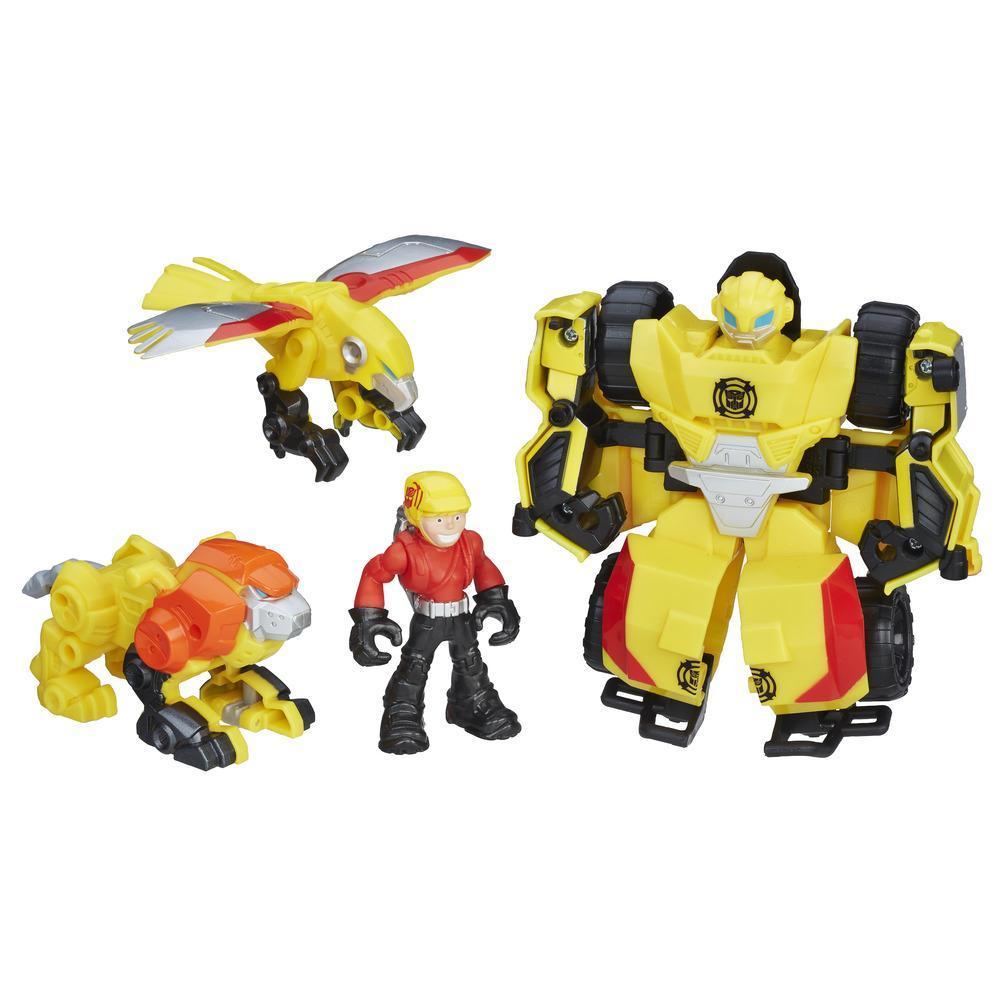 Playskool Heroes Transformers Rescue Bots - Bumblebee sauvetage vertical
