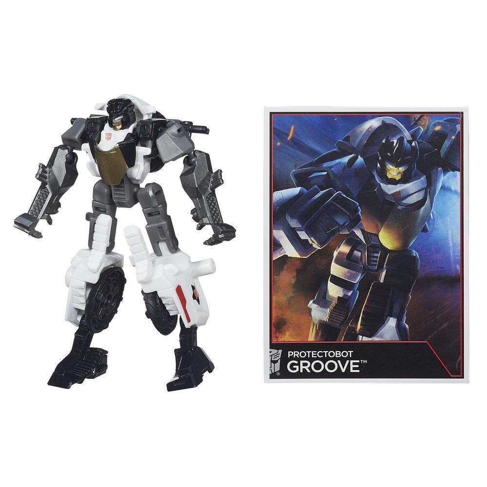 Transformers Generations Combiner Wars - Figurine Protectobot Groove de classe Légendes