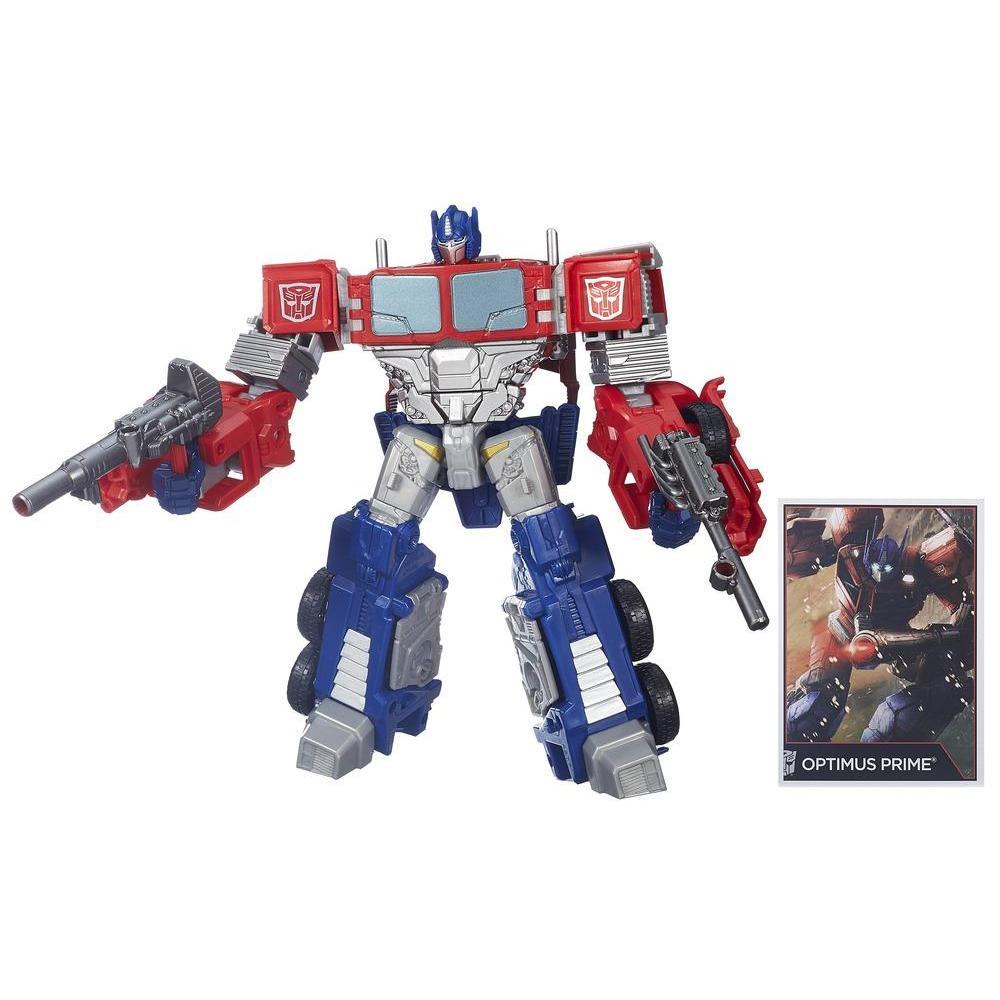 Transformers Generations Combiner Wars - Figurine Optimus Prime de classe Voyageur