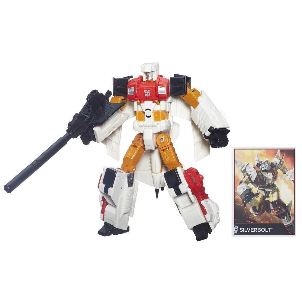 Transformers Generations Combiner Wars - Figurine Silverbolt de classe Voyageur