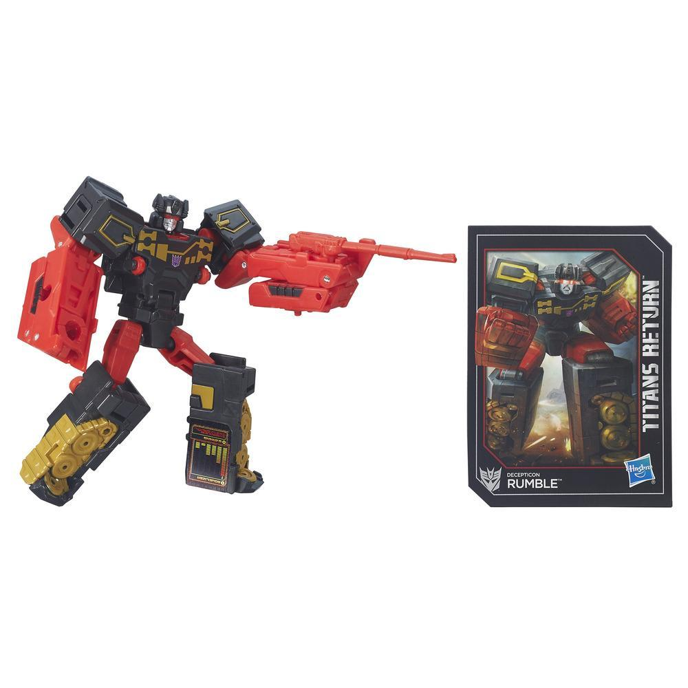 Transformers Generations Titans Return - Decepticon Rumble classe légendes