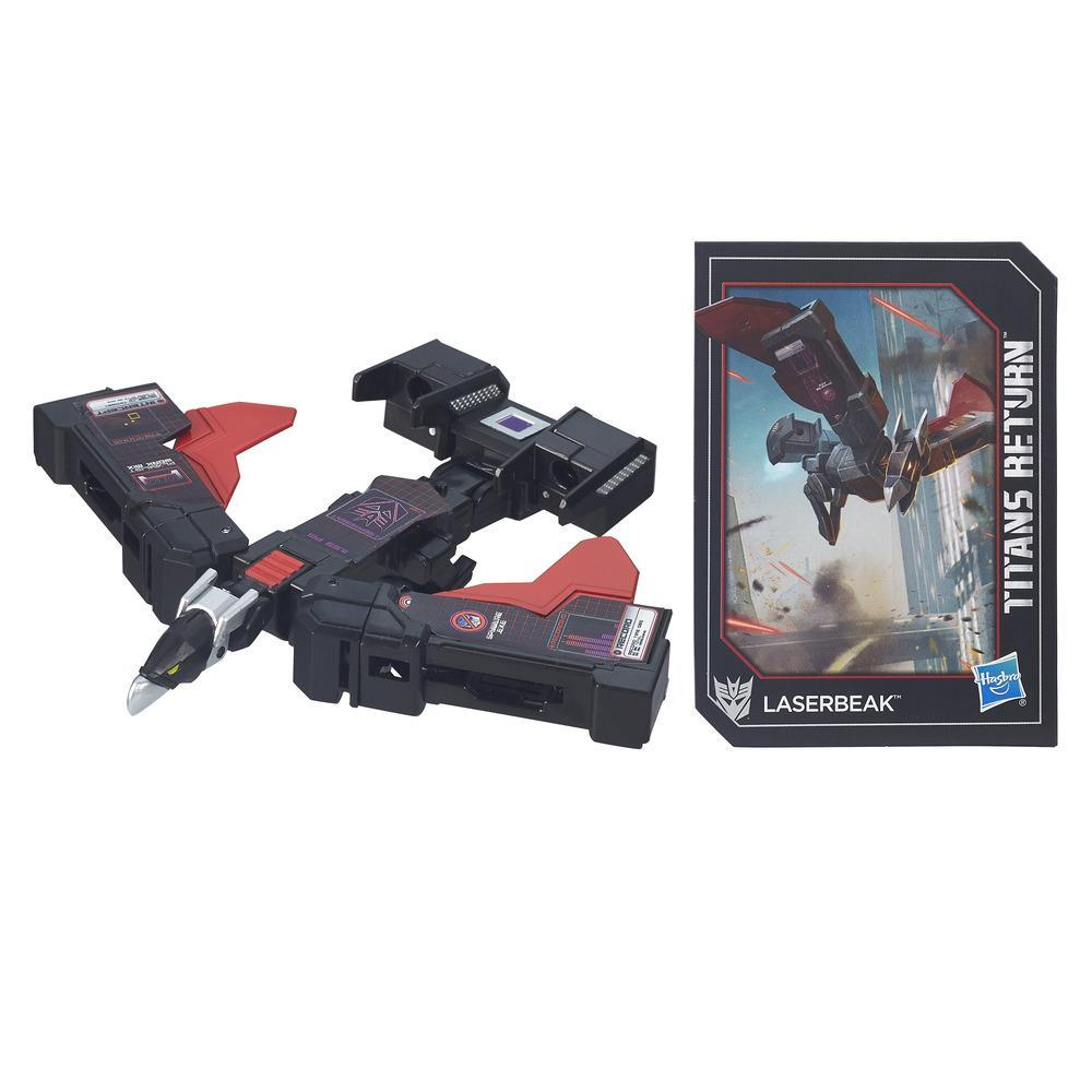 Transformers Generations Titans Return - Laserbeak classe légendes