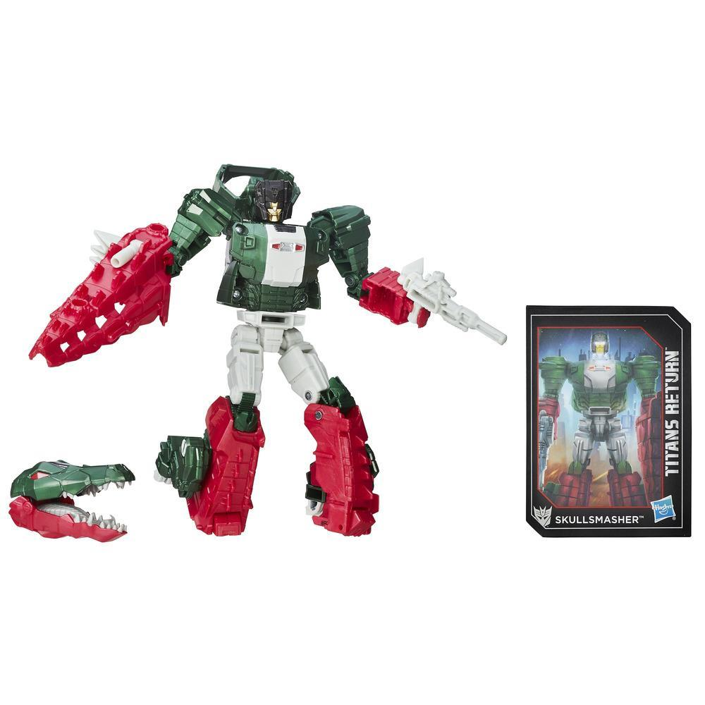 Transformers Generations Titans Return - Maître Titan Grax et Skullsmasher