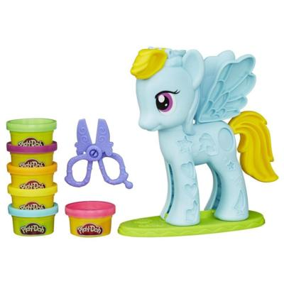 Play-Doh My Little Pony - Rainbow Dash Salon branché