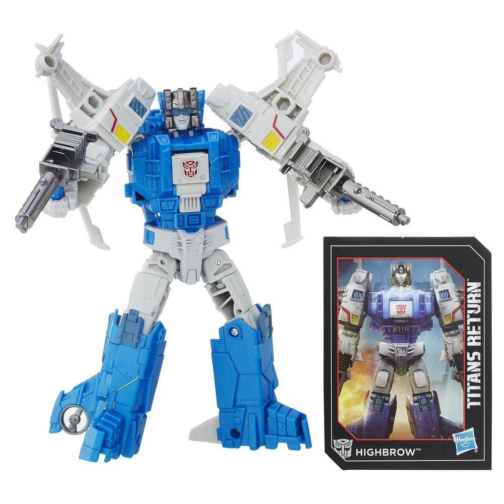 Transformers Generations Titans Return - Maître Titan Xort et Highbrow
