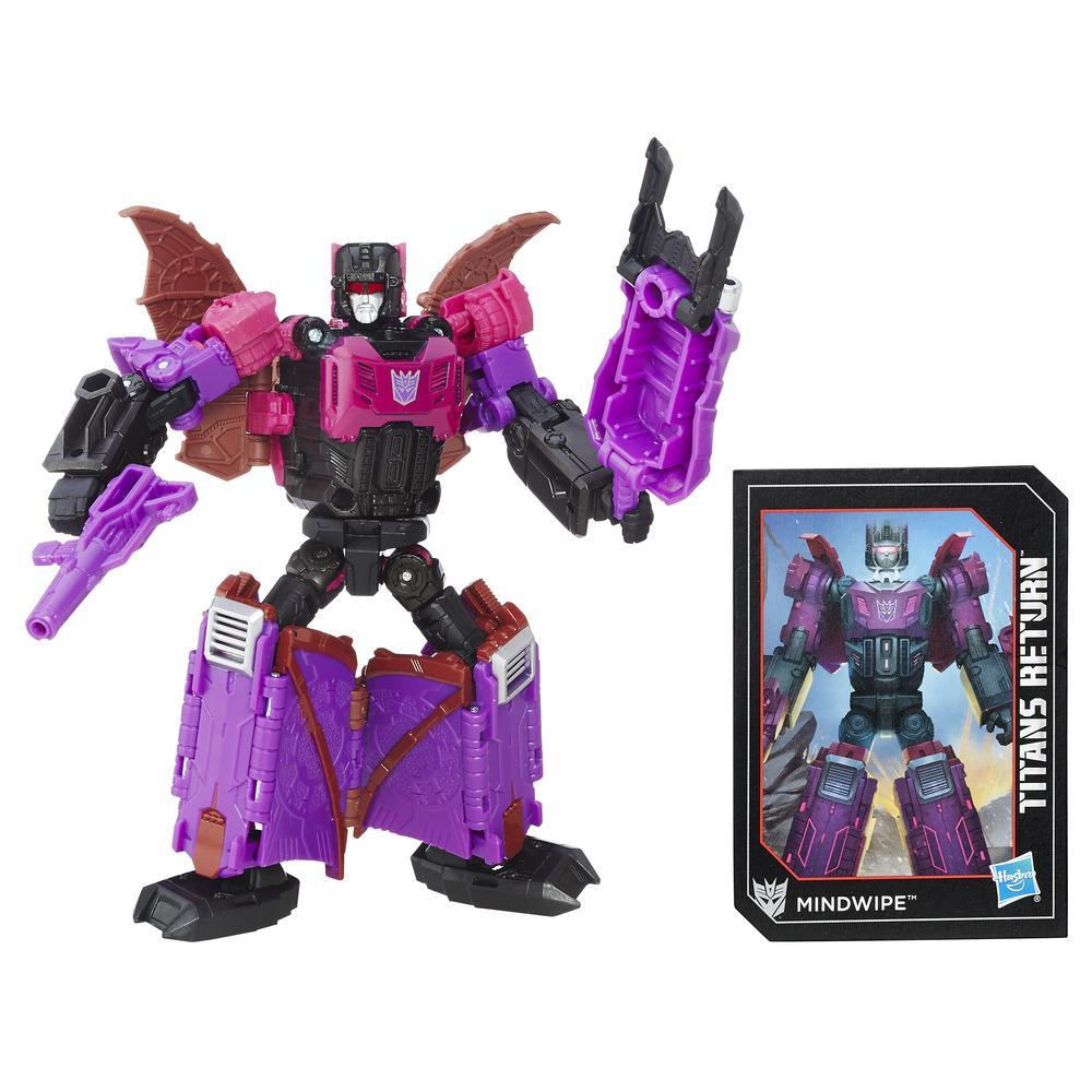 Transformers Generations Titans Return - Maître Titan Vorath et Mindwipe