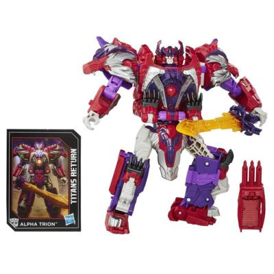 Transformers Generations Titans Return - Autobot Sovereign et Alpha Trion