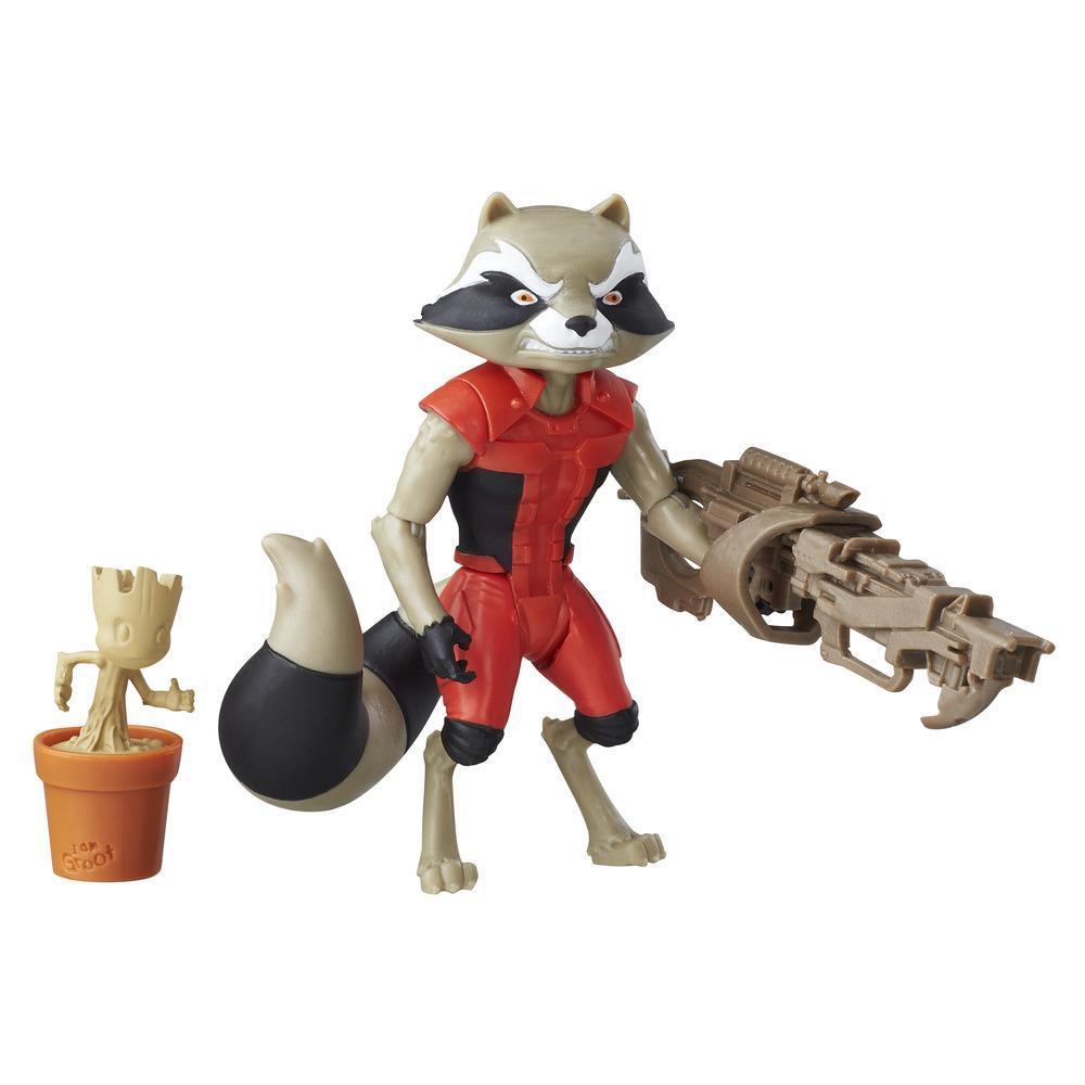 Marvel Guardians of the Galaxy - Figurine Rocket Raccoon de 15 cm