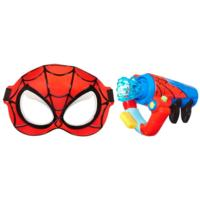 MARVEL SPIDER-MAN Adventures PLAYSKOOL HEROES SPIDER-MAN Ensemble Gyrotoiles et masque