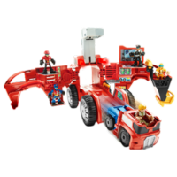 TRANSFORMERS RESCUE BOTS PLAYSKOOL HEROES Jeu électronique CASERNE MOBILE RESCUE BOTS.