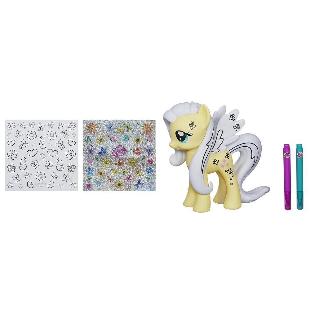 My Little Pony Pouliche-à-décorer - Figurine Fluttershy
