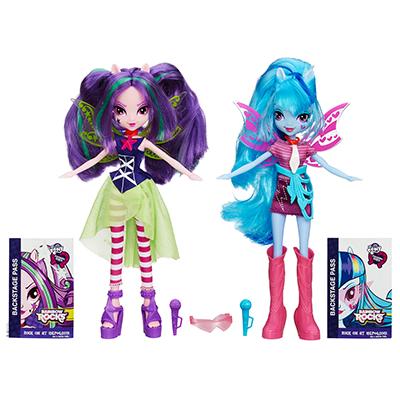 My Little Pony Equestria Girls Rainbow Rocks - Duo Sonata Dusk et Aria Blaze