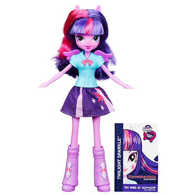 My Little Pony Collection Equestria Girls - Poupée Twilight Sparkle