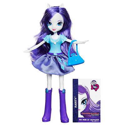 My Little Pony Collection Equestria Girls - Poupée Rarity