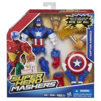 Marvel Super Hero Mashers - Figurine Captain America