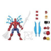 Marvel Avengers Super Hero Mashers - Figurine Spider-Man avec attaque tournoyante