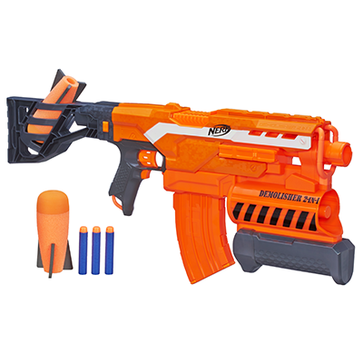 NERF N-STRIKE ELITE FOUDROYEUR DEMOLISHER 2-EN-1