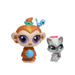 Littlest Pet Shop Duo griffé - Mushroom Lee & Sneakers Stymie