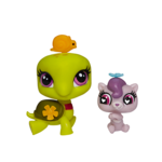 Littlest Pet Shop Duo griffé - Ozzie Shellstein & Nash Cuddlesworth