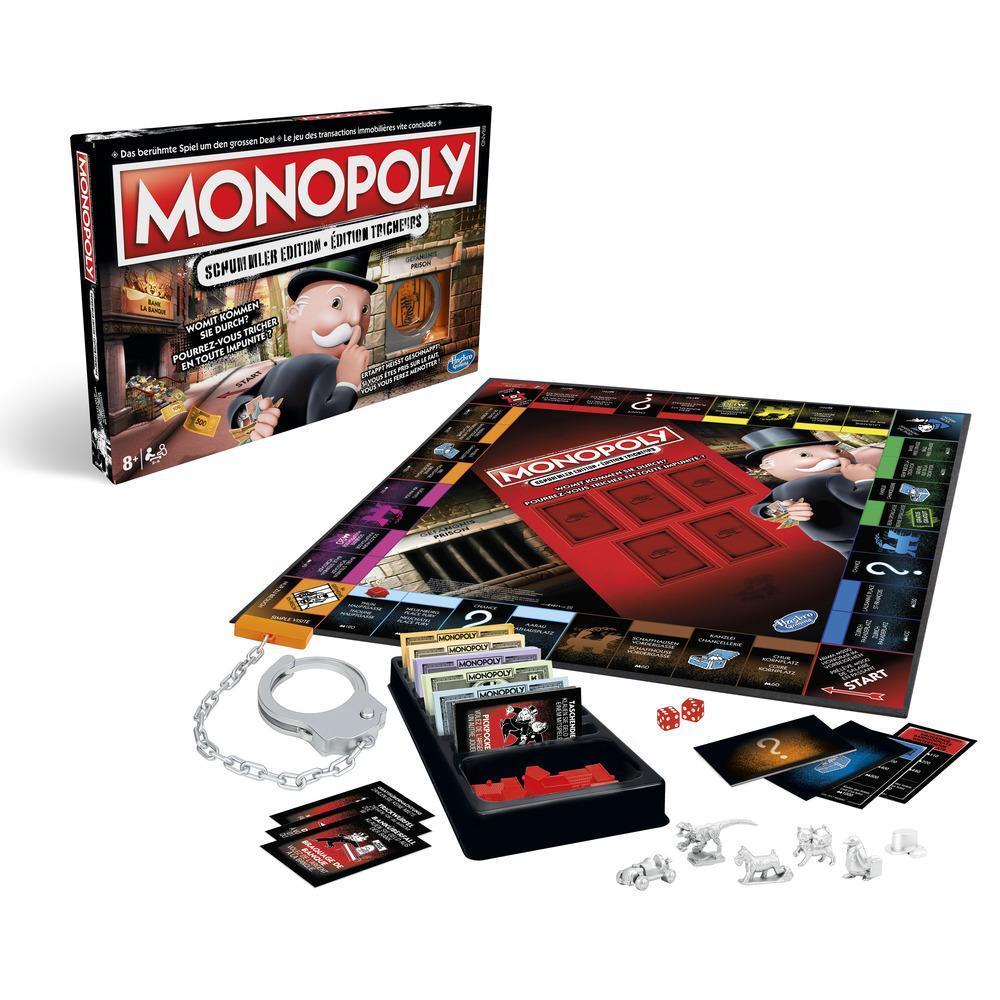 L'édition Tricheurs de Monopoly