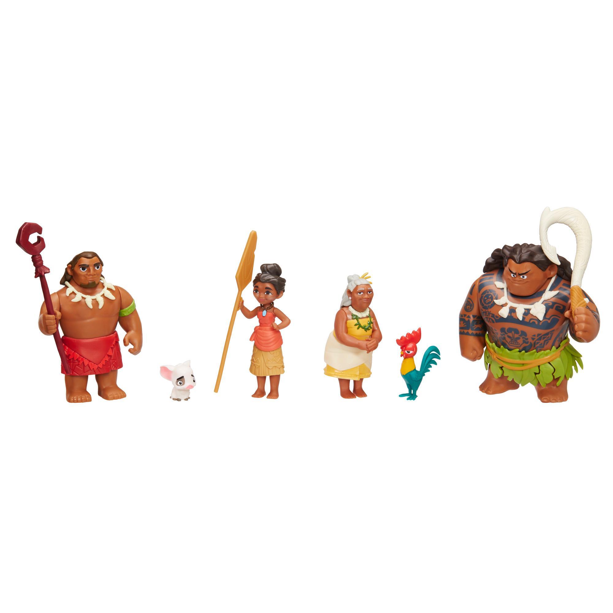 Multipack Figurines Vaiana