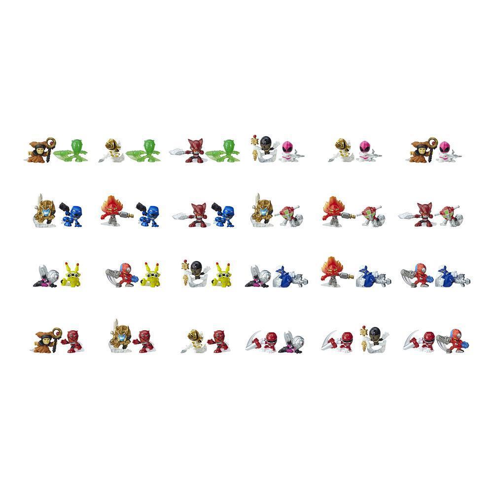 Power Rangers - Figurines Micro Morphers Série 2, jouets parfaits pour les sacs cadeaux et les chaussettes de Noël