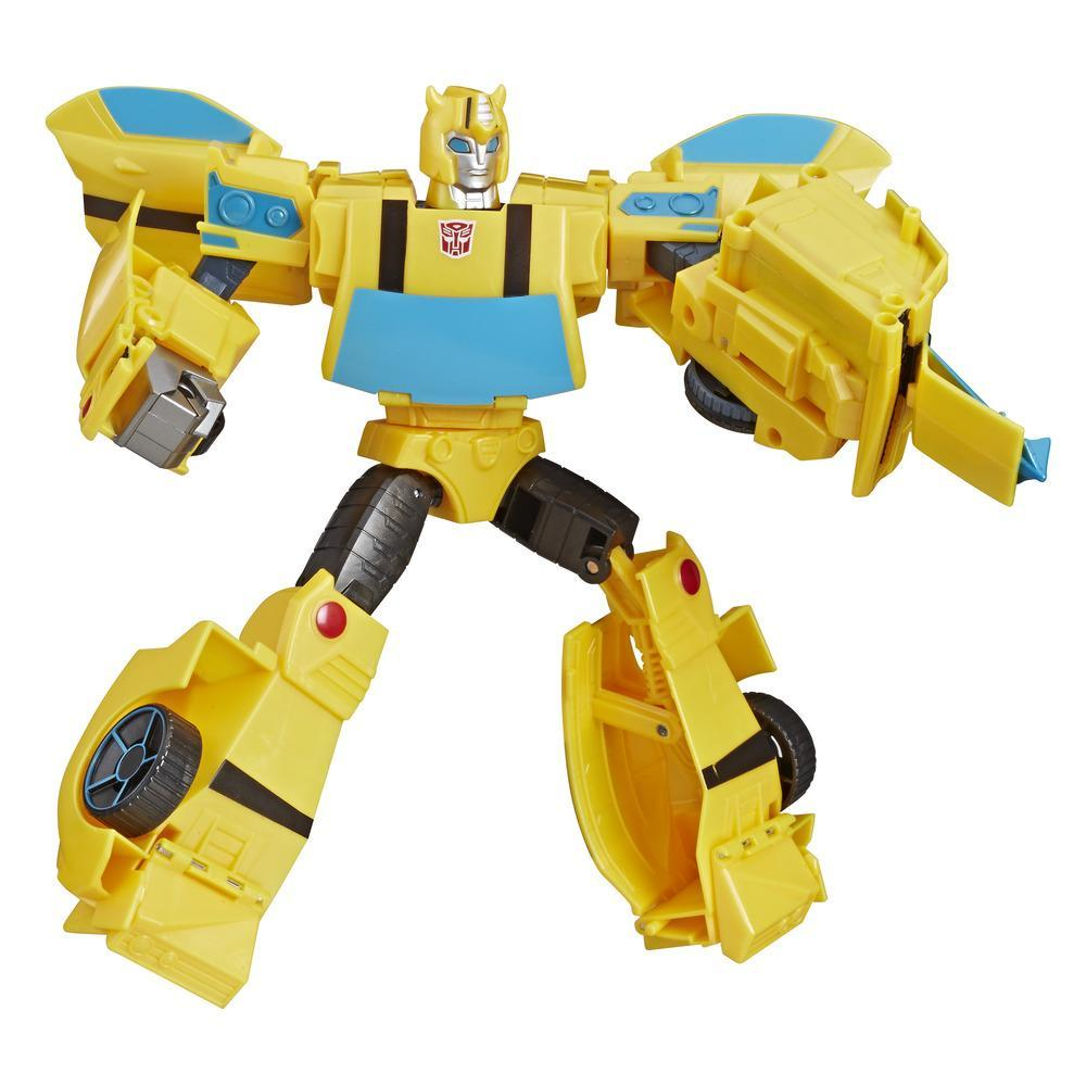 TRANSFORMERS CYBERVERSE - ROBOT ACTION 2 EN 1 ULTIMATE BUMBLEBEE 30CM