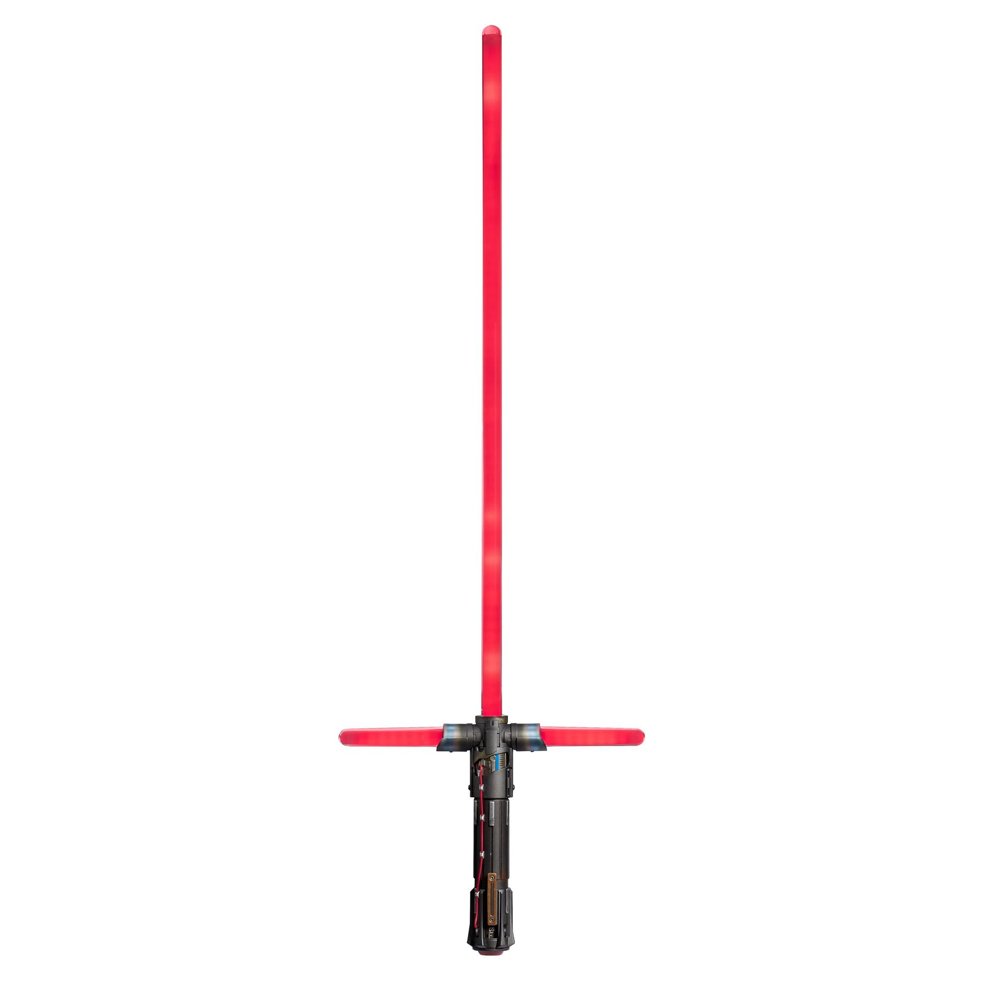 Star Wars The Black Series Supreme Leader Kylo Ren Force FX Elite Lightsaber with Advanced LED, Sound Effects