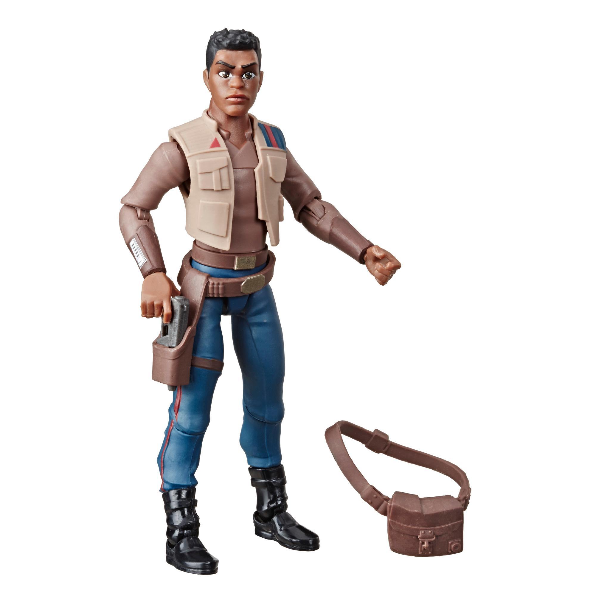 Star Wars Galaxy of Adventures Finn 5-Inch-Scale Action Figure Toy