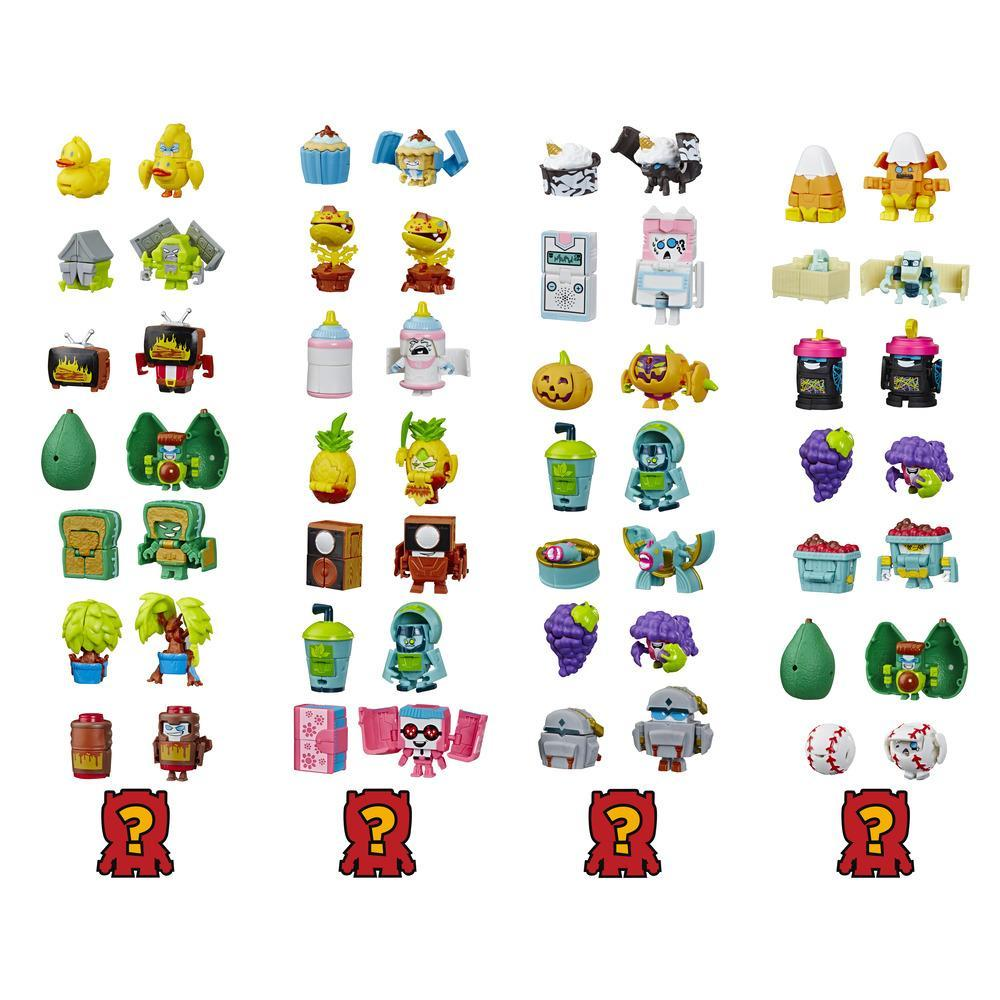 Transformers BotBots Series 3 Fresh Squeezes 8-Pack Mystery 2-In-1 Collectible Figures