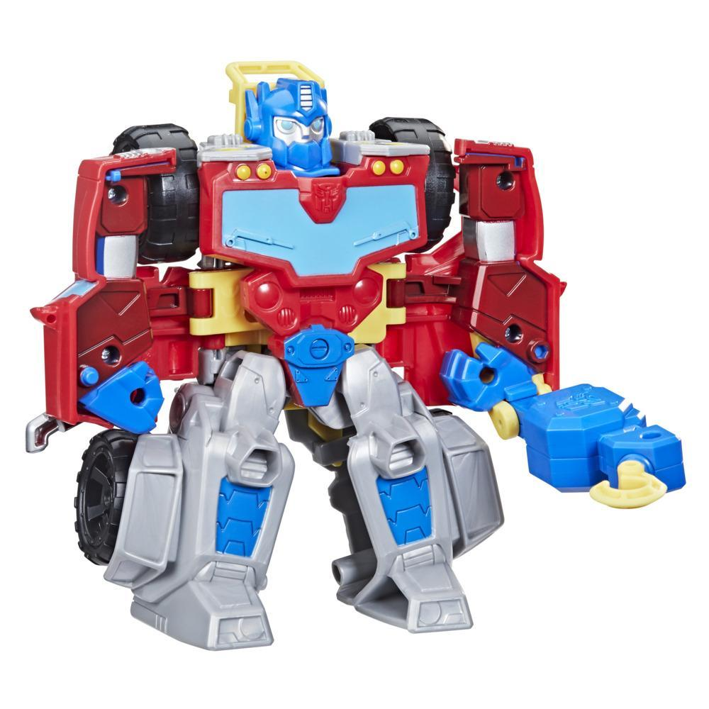 Transformers Rescue Bots Academy Optimus Prime