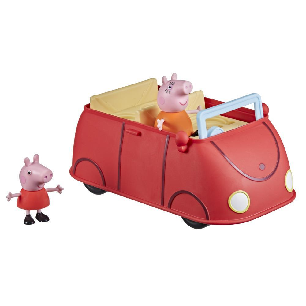 Peppa Pig Voiture rouge familiale