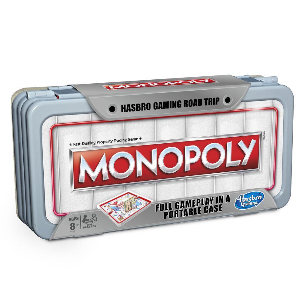 MONOPOLY ROAD TRIP VOYAGE