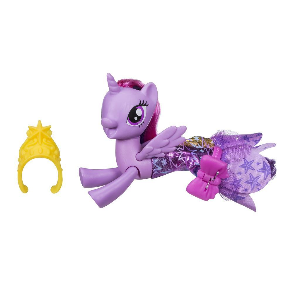 My Little Pony Le Film PONEY SIRENE ARTICULE + jupe PRINCESS TWILIGHT SPARKLE