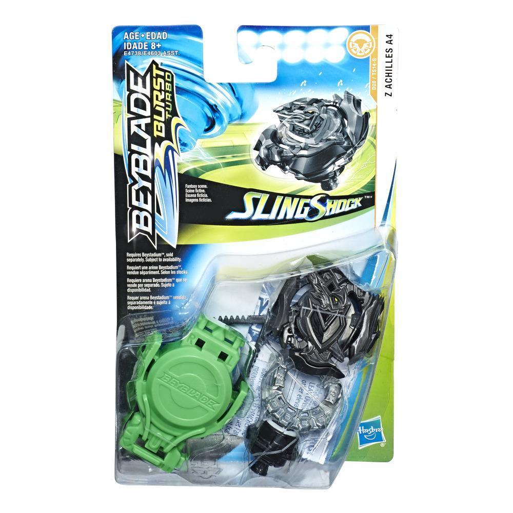 Beyblade Burst Turbo Slingshock Z Achilles A4 Starter Pack