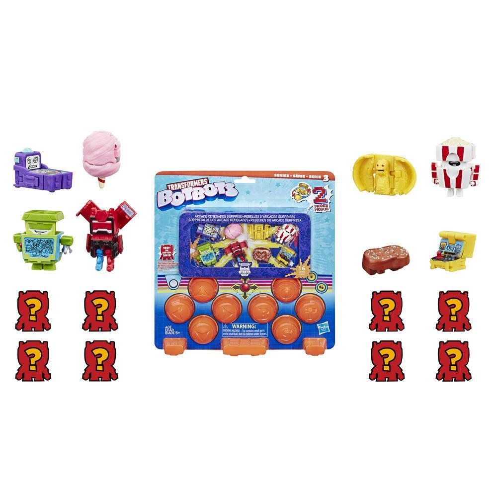 TRANSFORMERS BOTBOTS - MINI ROBOT MYSTERE PACK SURPRISE