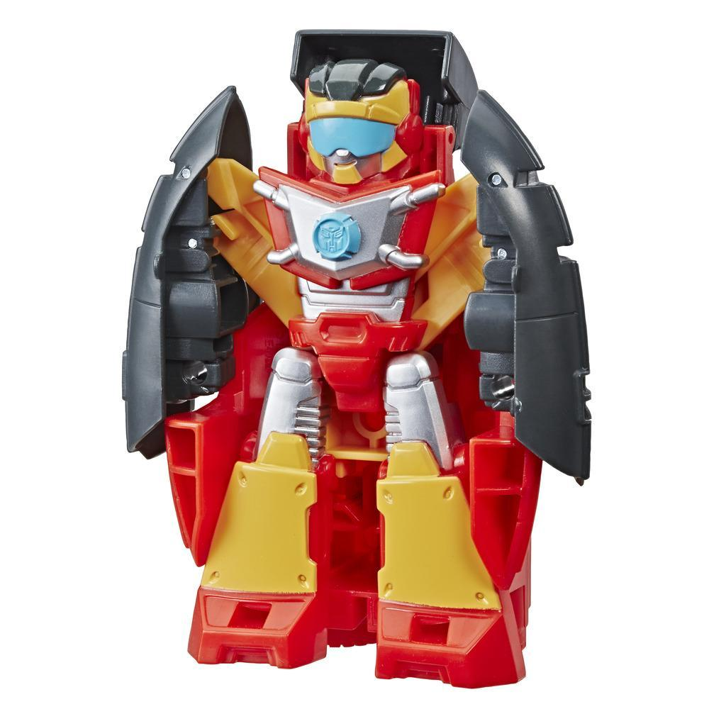 Playskool Heroes Transformers Rescue Bots Academy Hot Shot Converting Toy Robot