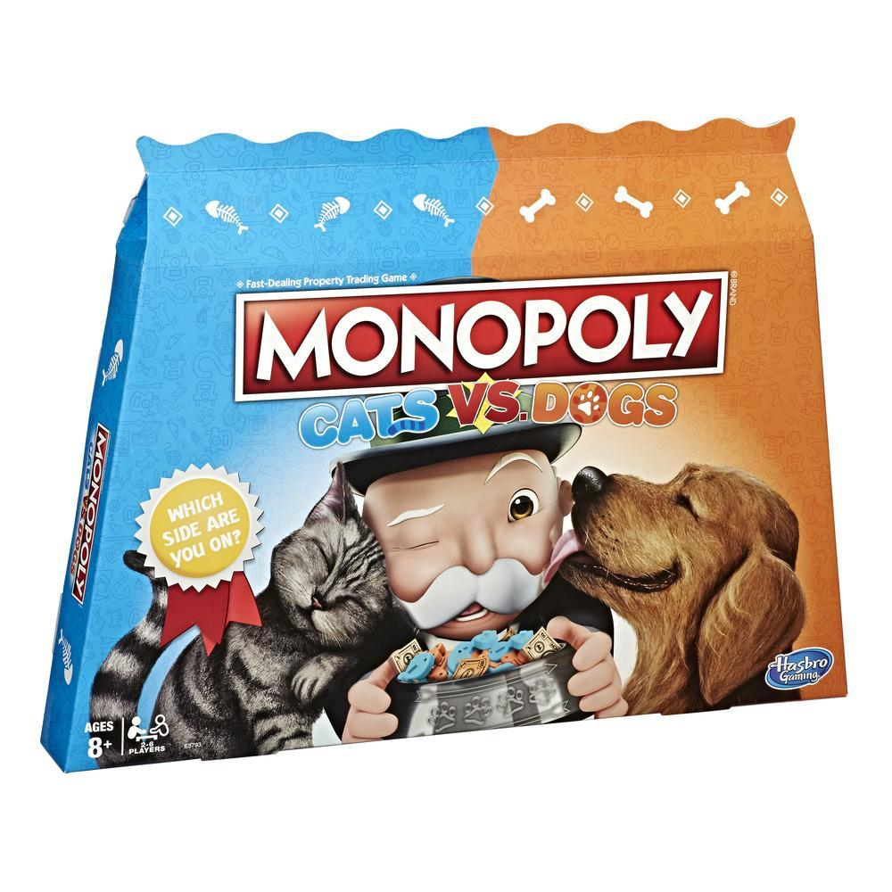 MONOPOLY CHATS VS CHIENS