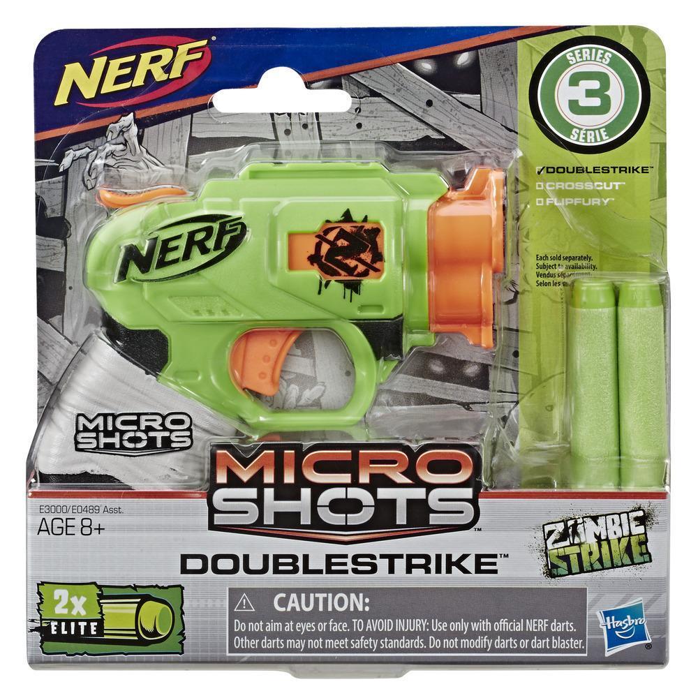 Nerf MicroShots Zombie Strike DoubleStrike