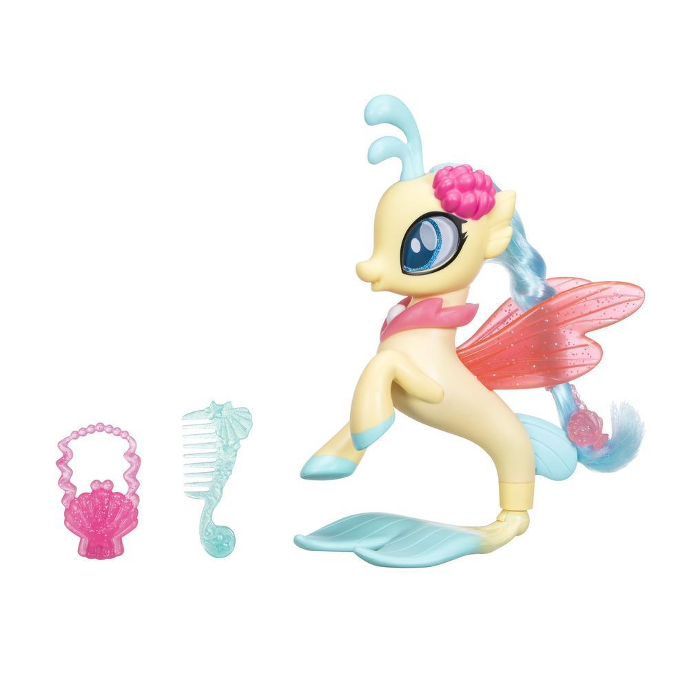 My Little Pony Le Film PONEY SIRENE ARTICULE + jupe RARITY  PRINCESS SKYSTAR