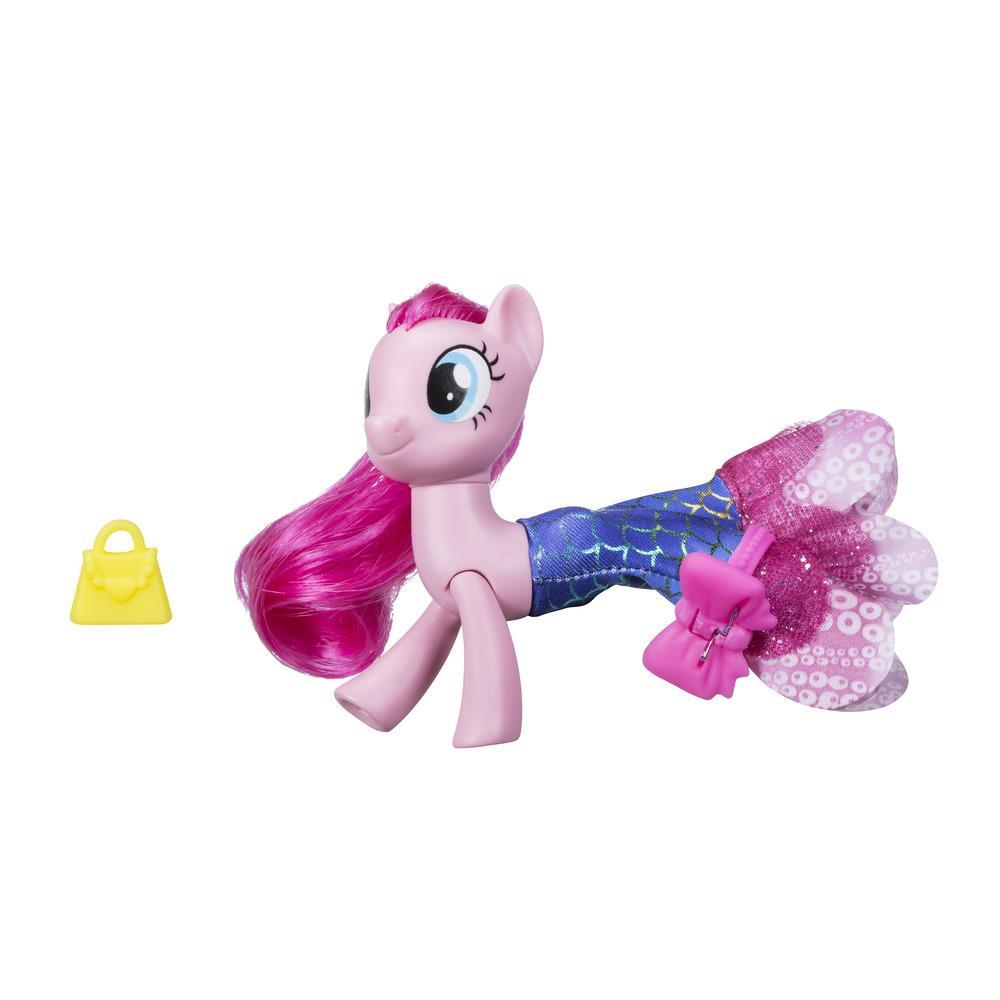 My Little Pony Le Film PONEY SIRENE ARTICULE + jupe PINKIE PIE