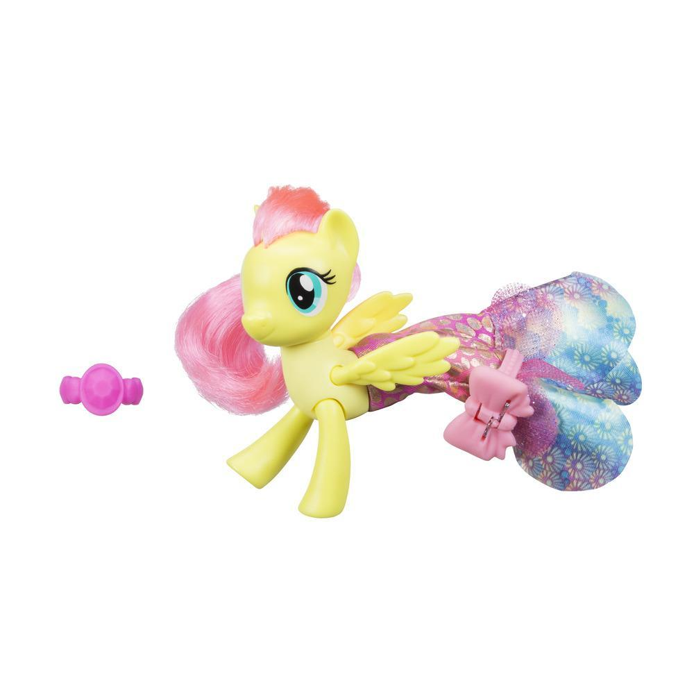 My Little Pony Le Film PONEY SIRENE ARTICULE + jupe FLUTTERSHY