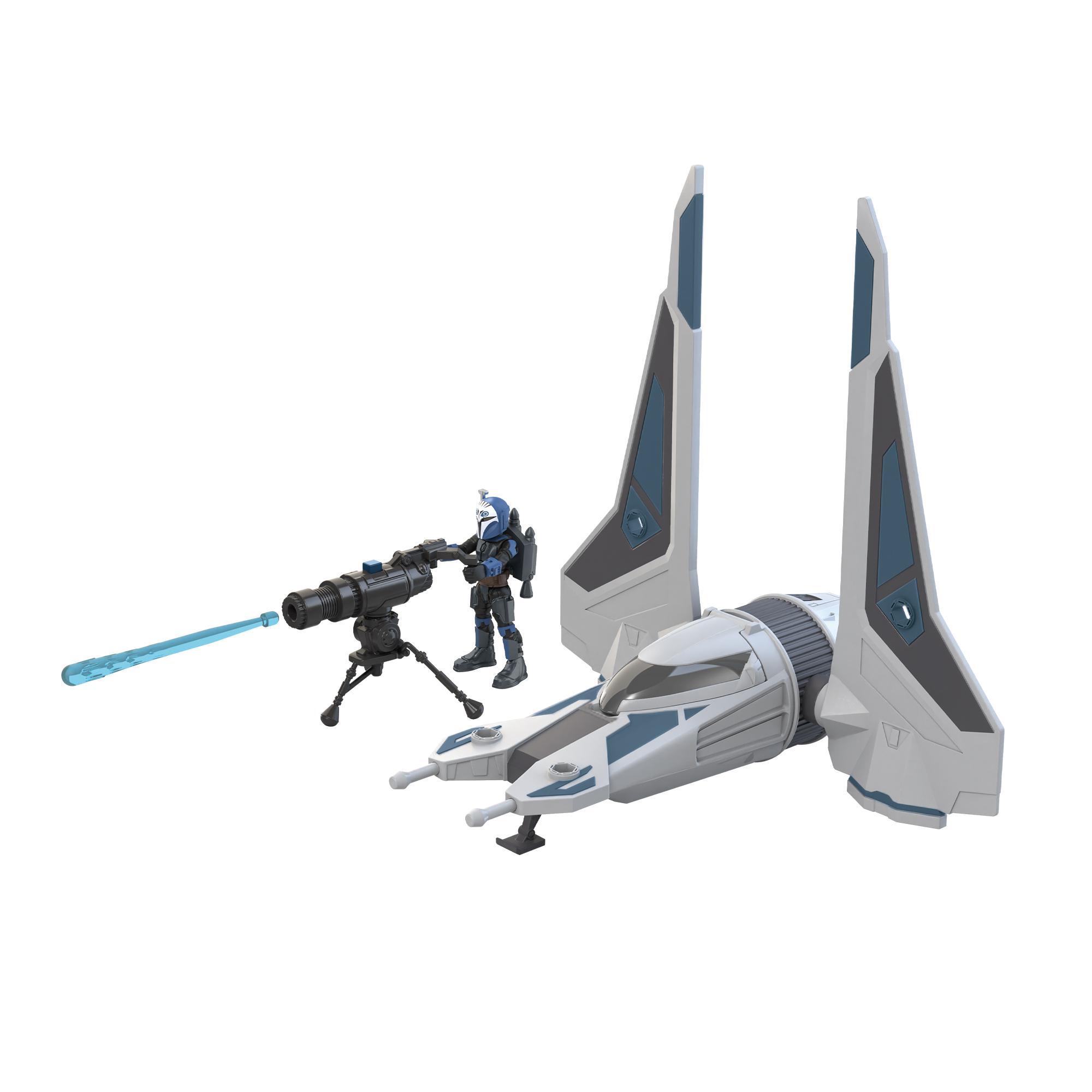 Star Wars Mission Fleet Bo-Katan Gauntlet Starfighter