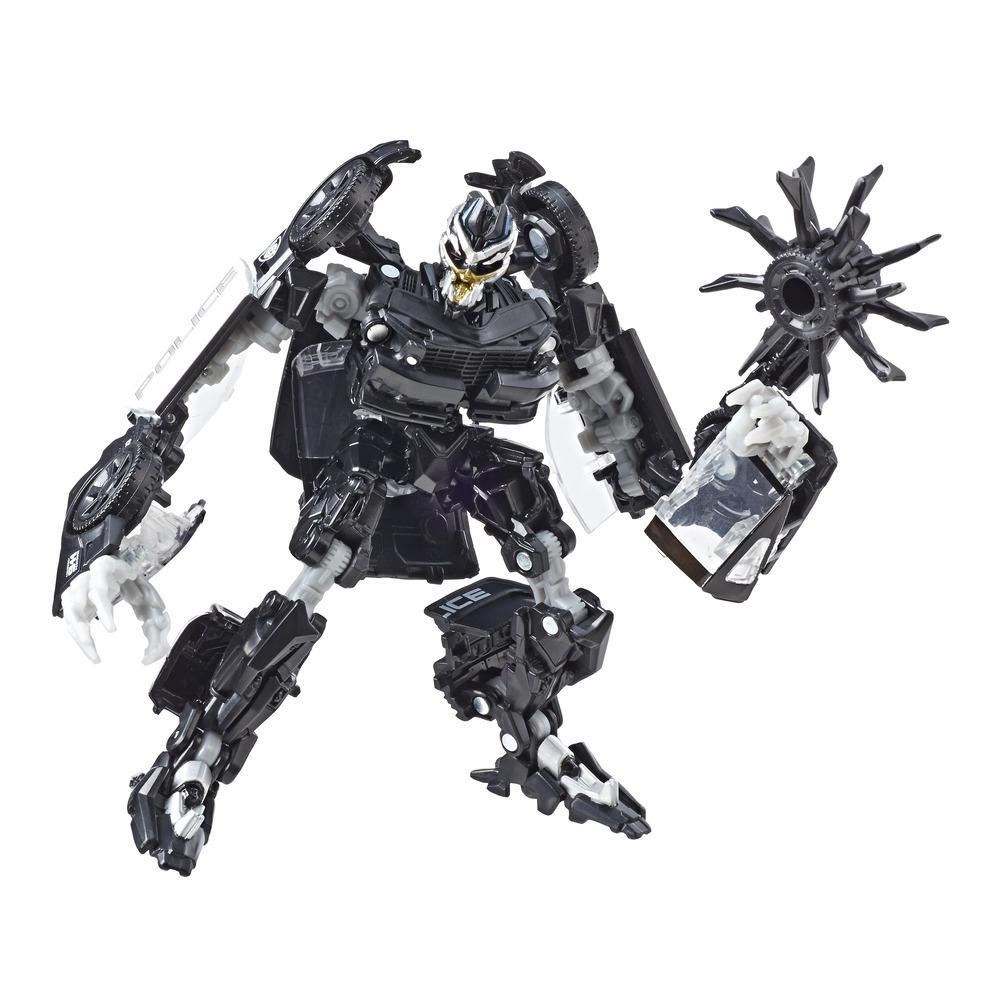 TRANSFORMERS - FIGURINE BARRICADE DELUXE - 15 CM - EDITION COLLECTOR STUDIO SERIES